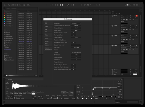 SimpleWorld Theme for Ableton 10 by Georgi Naydenov