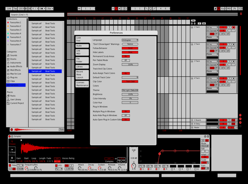 *** sack turbo grid Theme for Ableton 10 by Ho