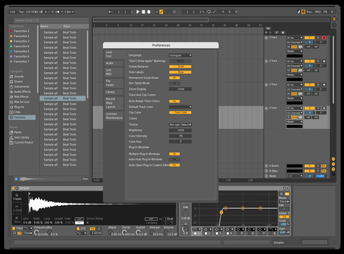 Almostnone Theme for Ableton 10 by Lorrann