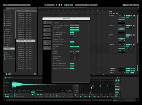 DynaGreen Theme for Ableton 10 by Xeque2786
