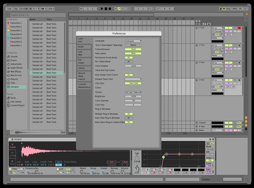 Mint&pink Theme for Ableton 10 by Frenzii_27