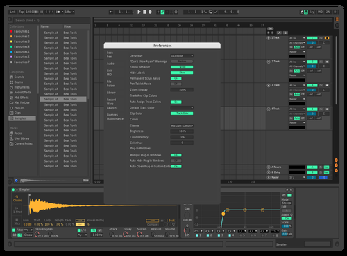 Dark 2 Theme for Ableton 10 by Foster