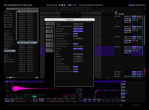 Dark Bunny Theme for Ableton 10 by zenen flores