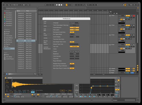 Mid Dark - Sharpened Theme for Ableton 10 by x39