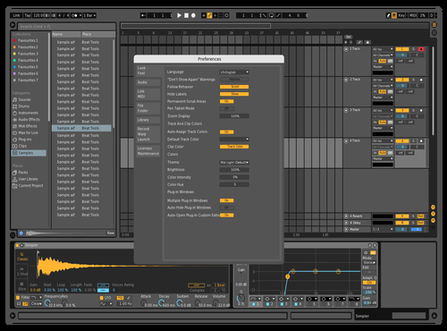 MidDarkMod II Theme for Ableton 10 by Cristian