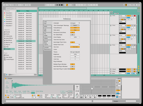 Lightness Green Theme for Ableton 10 by Nicolas Novella