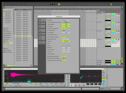 IONCROPS Mid Light Theme for Ableton 10 by IONCROPS