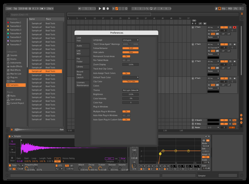 NEWNEW Theme for Ableton 10 by mjtroyer