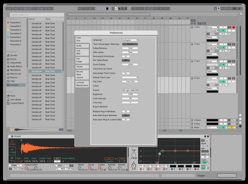 Beeaut Theme for Ableton 10 by joseph