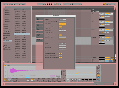 Dochters Theme for Ableton 10 by Thijmen