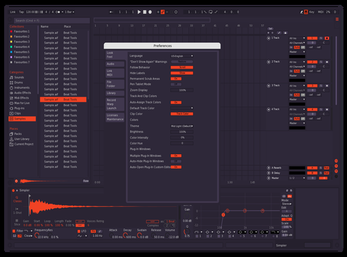 Fire Darker Theme for Ableton 10 by Leo Laguero