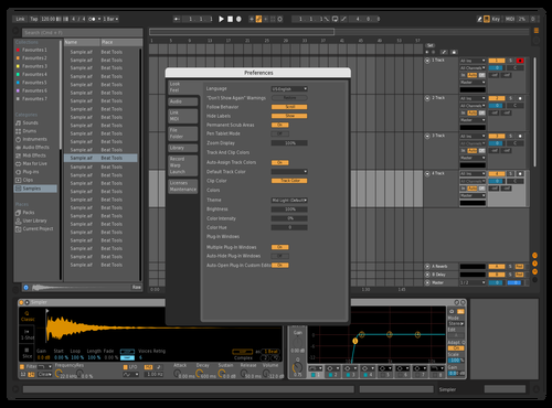 The Boathouse 2.0 Theme for Ableton 10 by Emiel Samandar