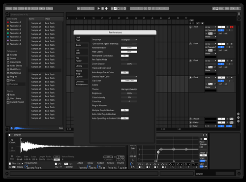 Clean Contrast V2 Theme for Ableton 10