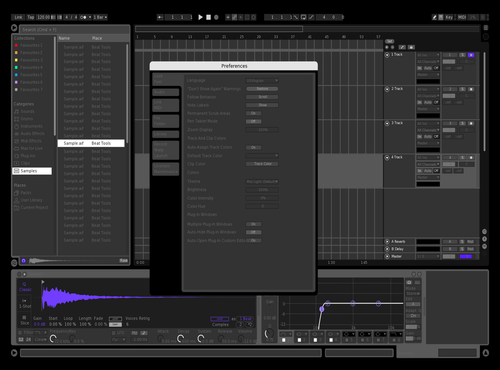 Liam Accardi Skin Theme for Ableton 10 by Liam Accardi