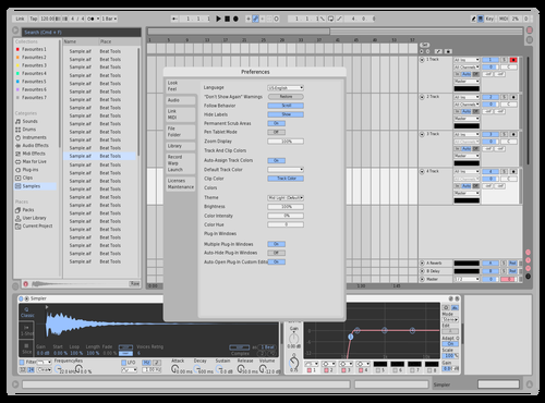 PETALE - LIGHT Theme for Ableton 10 by PETALE