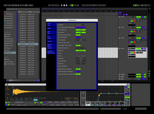 MyDarkTheme Theme for Ableton 10 by C2K78