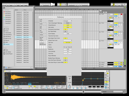 Custon01 Theme for Ableton 10 by gabriele
