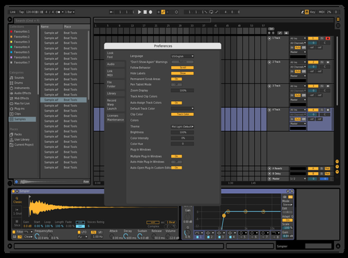 Just a tweak Theme for Ableton 10 by Dave