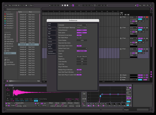 DEEP PURP Theme for Ableton 10 by antonino