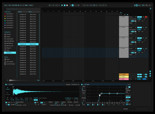 Dark Cyan Theme for Ableton 10 by niilanteybadu