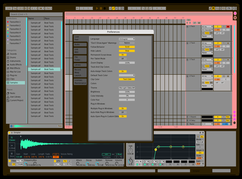 Box Theme for Ableton 10 by Kalu