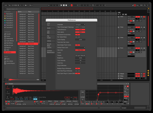 Basic Red Theme for Ableton 10 by jason0070