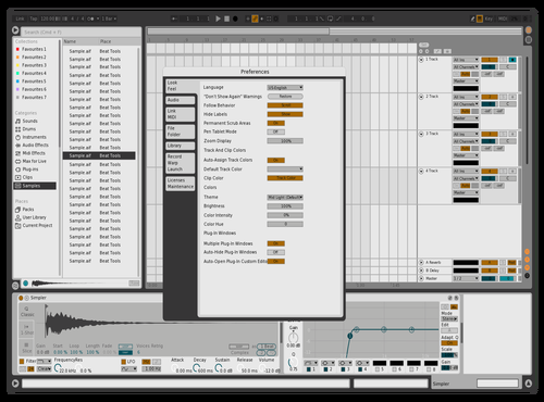 IthaqueLight Theme for Ableton 10 by ithaque