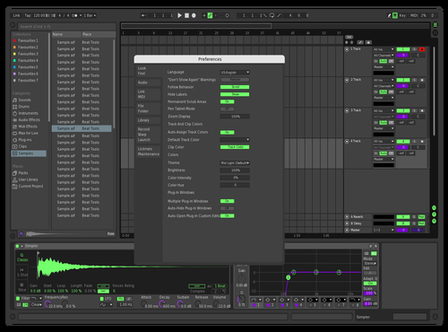 Jvst Theme for Ableton 10 by Navsa
