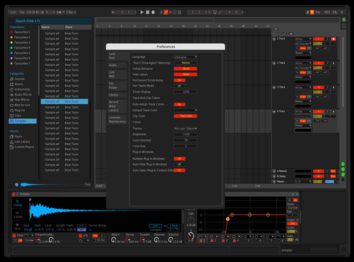 PDJ v1 Theme for Ableton 10 by PDJ