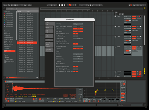 808MOd Theme for Ableton 10 by Aldo Sepulveda