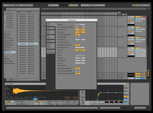 Effective Theme for Ableton 10 by version.onee