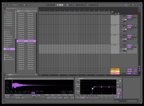 Purple Theme for Ableton 10 by Ryan Moeller