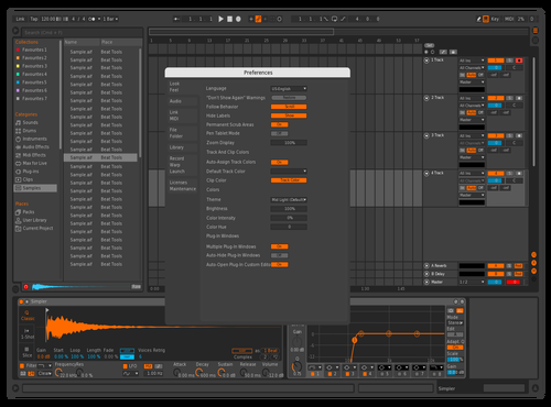 Maschine Theme for Ableton 10 by Loki