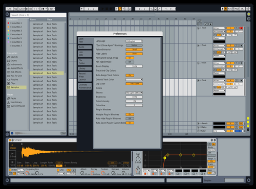 SkrillexOpener Theme for Ableton 10 by Jorge Garcia
