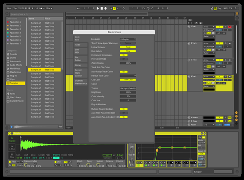 Giovanni AB10 Theme for Ableton 10 by giovanni