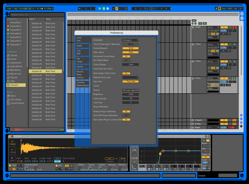 LENOX2 Theme for Ableton 10 by FRANCOIS FOURLIN