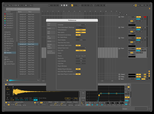 DEMO1 Theme for Ableton 10 by juanca