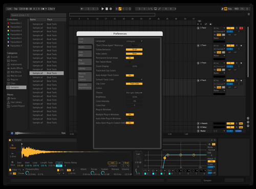 Darker Theme for Ableton 10 by José