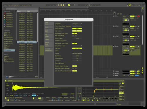 SKetch Theme for Ableton 10 by Ofek