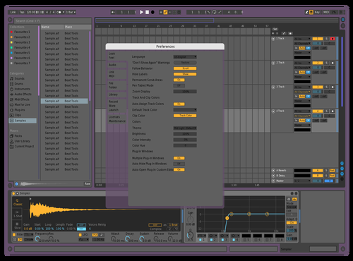 Re Theme for Ableton 10 by Albert lll