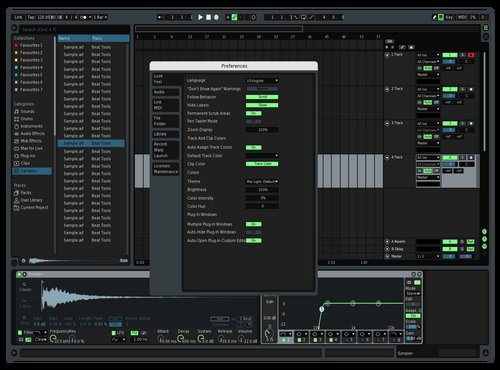 Try Theme for Ableton 10 by abletonbugger