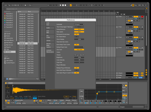Crisp Theme for Ableton 10 by heinrichyoshio