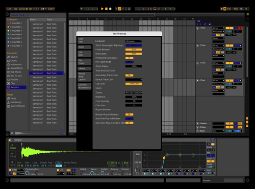 Black Theme for Ableton 10 by kev