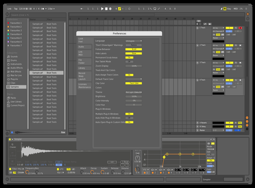 Light Cream Theme for Ableton 10 by DRstelth