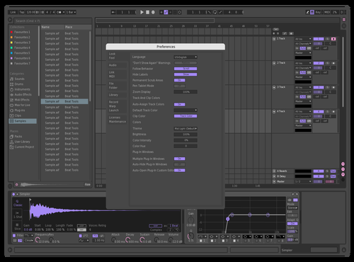 Stuff Theme for Ableton 10 by barnz
