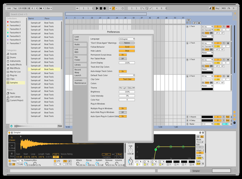 Light Theme for Ableton 10 by Live