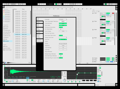 White Theme for Ableton 10 by dansip