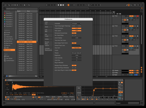 Orange Crush Theme for Ableton 10 by Dylan Stein