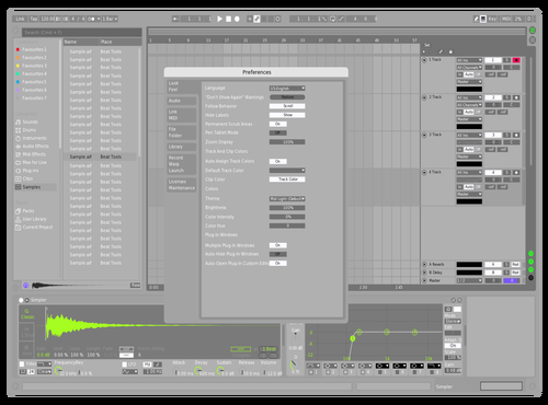 RVR Twk Theme for Ableton 10 by Brother Xah
