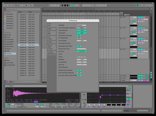 Retro Flash-Back Theme for Ableton 10 by Fillip Isgro